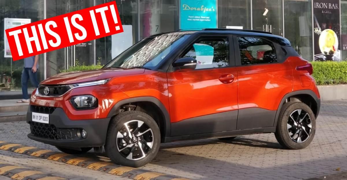 Tata Punch micro-SUV पूरी तरह से सामने आई क्योंकि यह लॉन्च से पहले डीलरशिप पर आती है