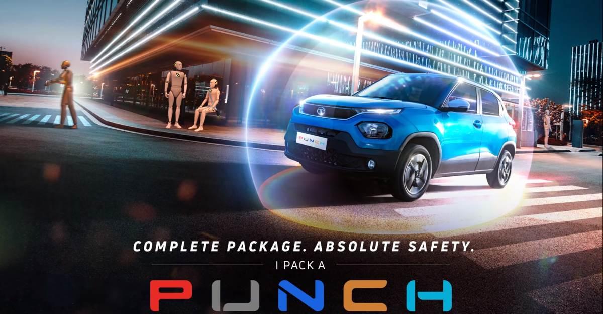 Tata Punch: नया टीज़र आगामी माइक्रो एसयूवी के लिए पूरी तरह से सुरक्षा पर जोर देता है