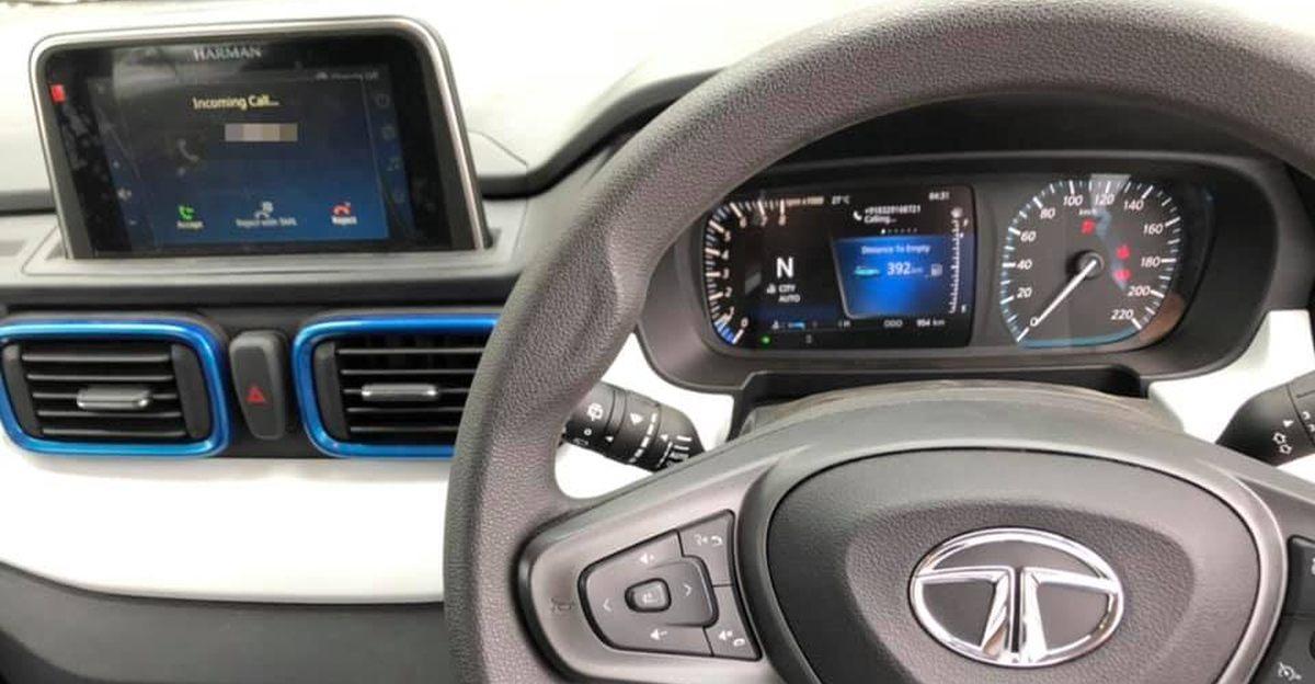 Tata Punch micro-SUV इंटीरियर लॉन्च से पहले लीक