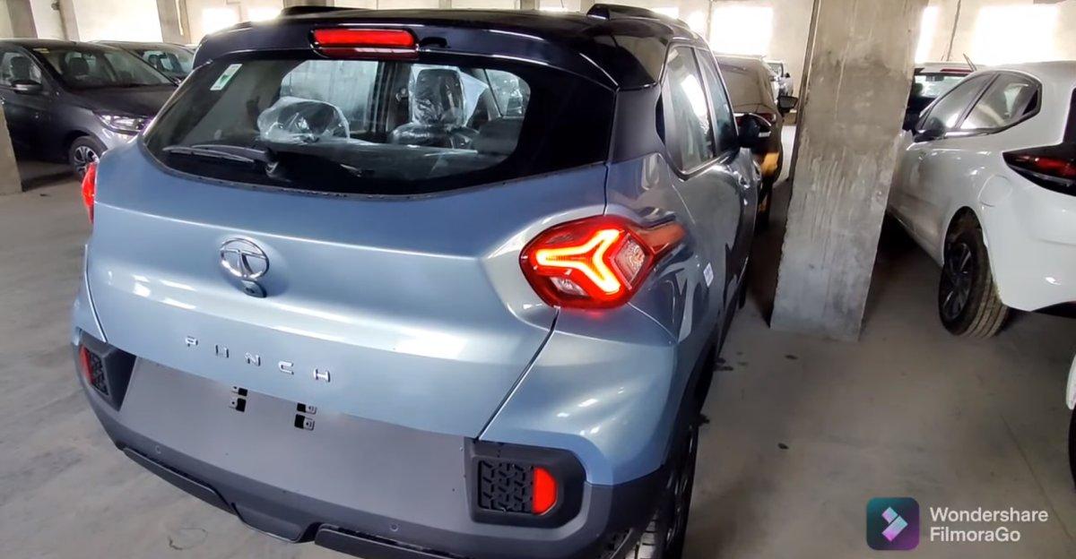 Tata Punch micro-SUV एक नए वॉकअराउंड वीडियो में