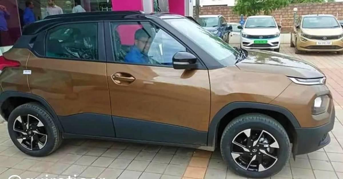 Tata Punch micro SUV: साफ नई तस्वीरें सामने आई