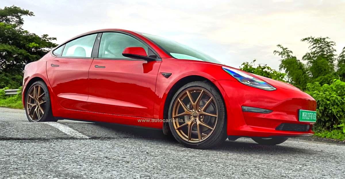 भारत में ग्राउंड क्लीयरेंस के मुद्दों के कारण Tesla Model 3 लॉन्च में देरी हुई