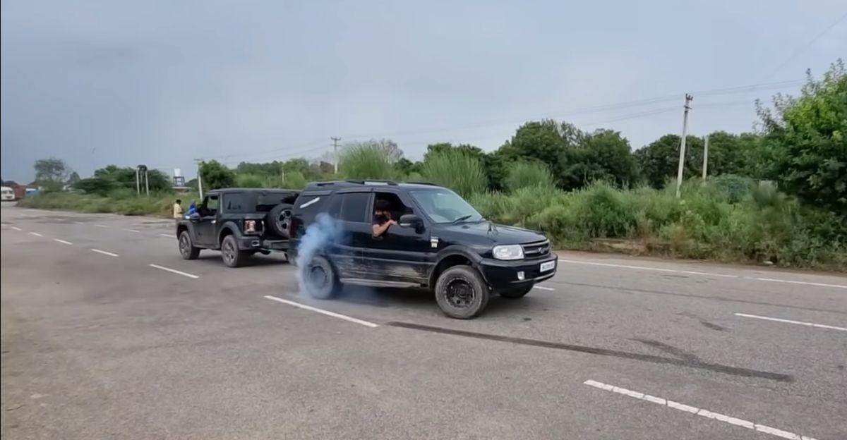 रस्साकशी में Mahindra Thar बनाम पुराने पीढ़ी Tata Safari