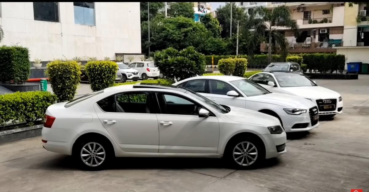 Well maintained, Used Skoda और Audi लक्जरी सेडान सस्ती कीमतों पर उपलब्ध