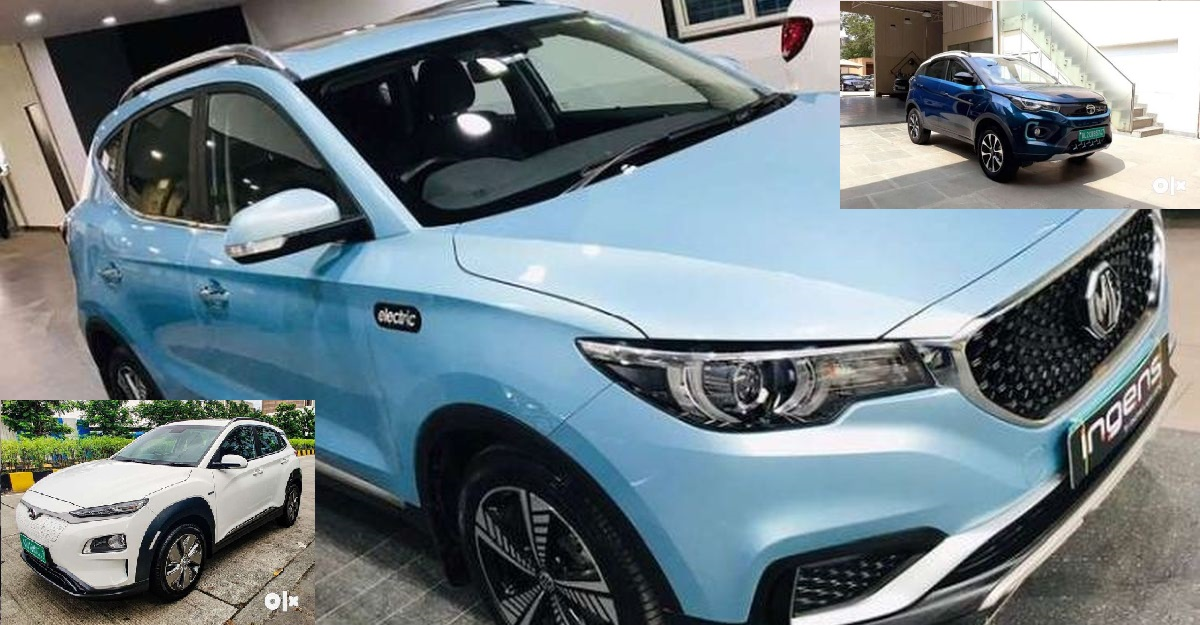 5 Used Electric SUVs बिक्री के लिए: Tata Nexon EV से MG eZS