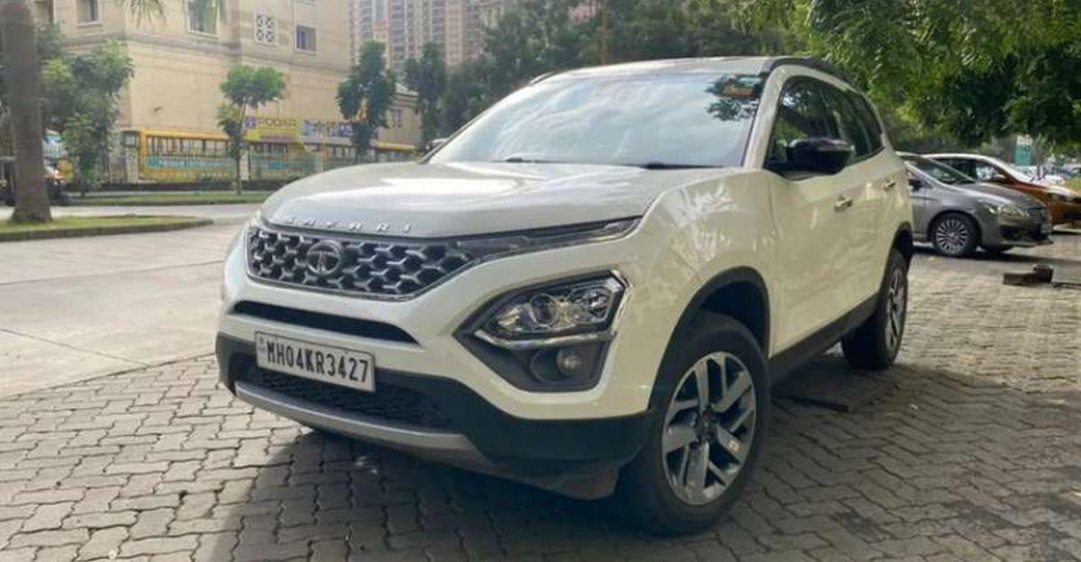 लगभग-नई 2021 Tata Safari SUVs बिक्री के लिए