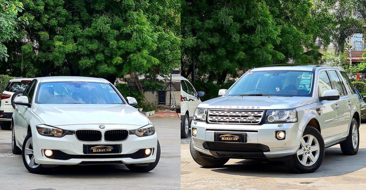पुरानी Range Rover Freelander 2, Mercedes ML250 और BMW 3-सीरीज दिल्ली में बिक्री के लिए