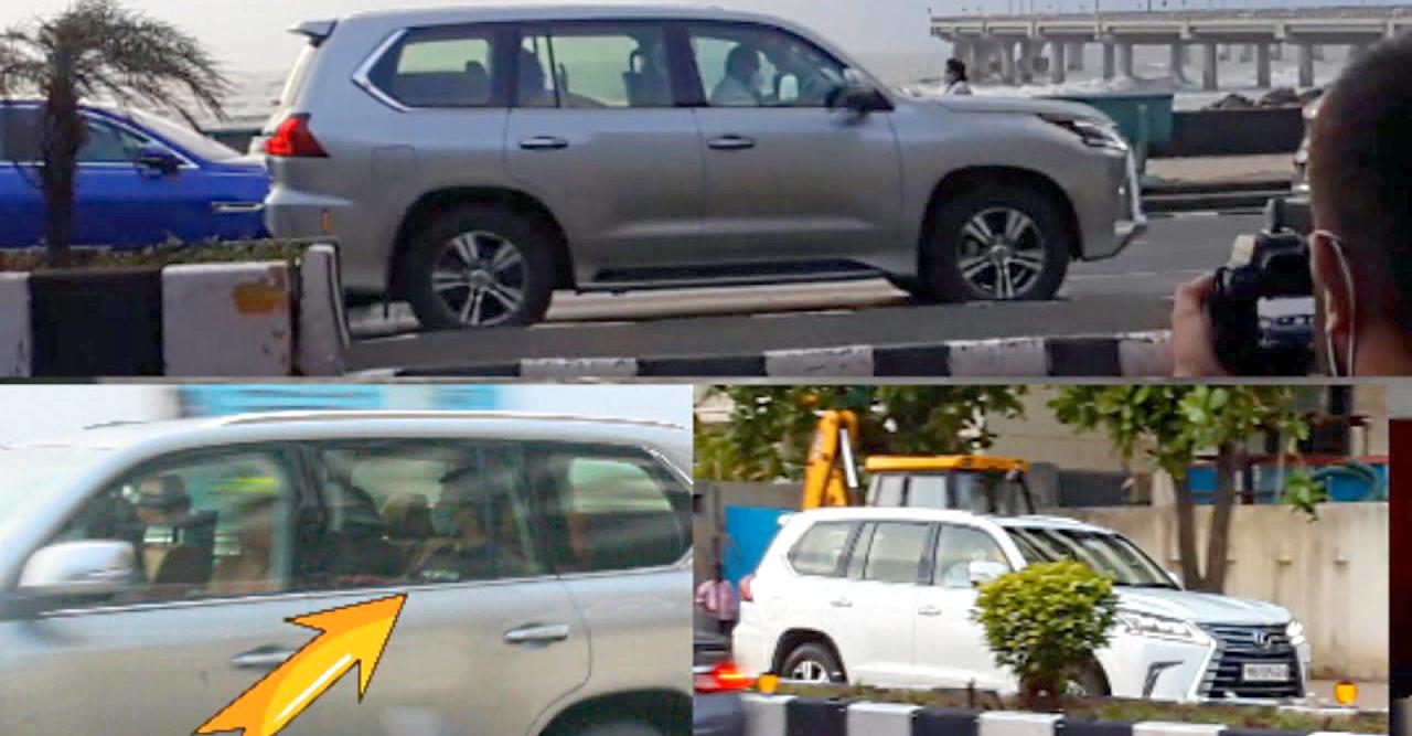 अरबपति अनंत अंबानी दो बिल्कुल नई Lexus LX570 सुपर लक्ज़री SUVs में नज़र आए [वीडियो]