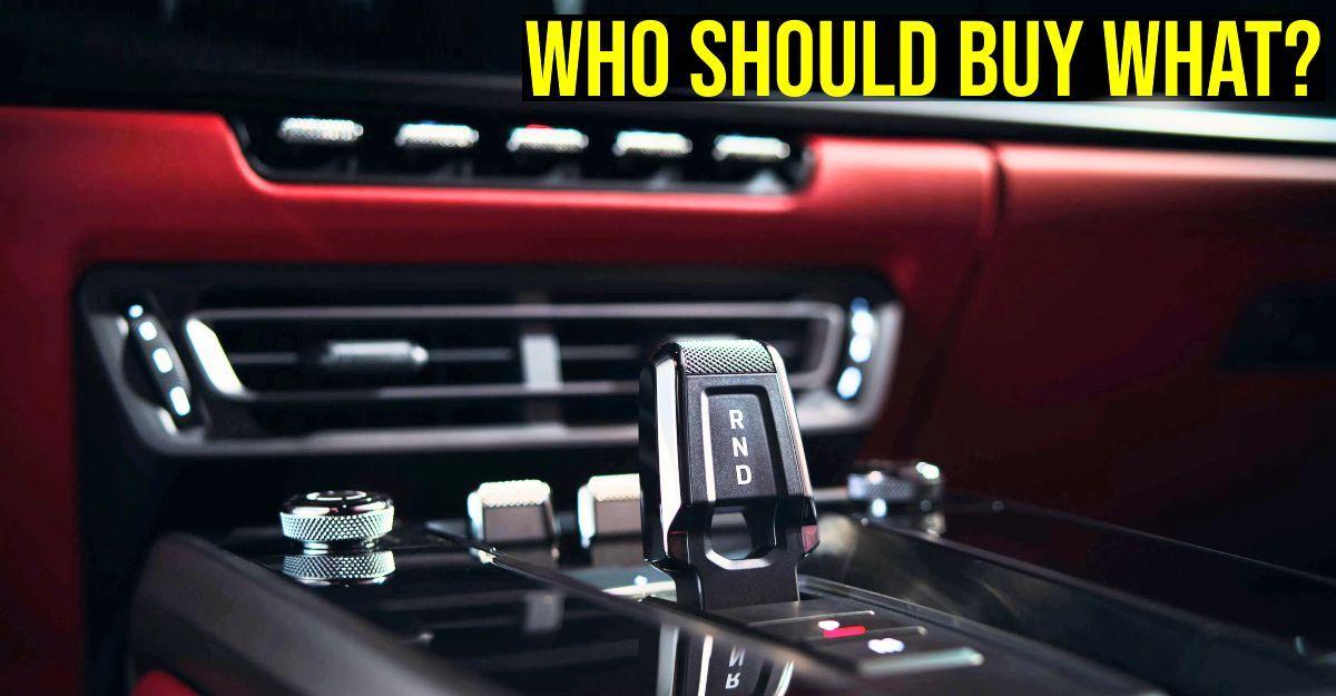 5 प्रकार की स्वचालित कारें – IMT, CVT, AMT, DCT और टॉर्क कन्वर्टर: आपको कौन सी कार खरीदनी चाहिए?
