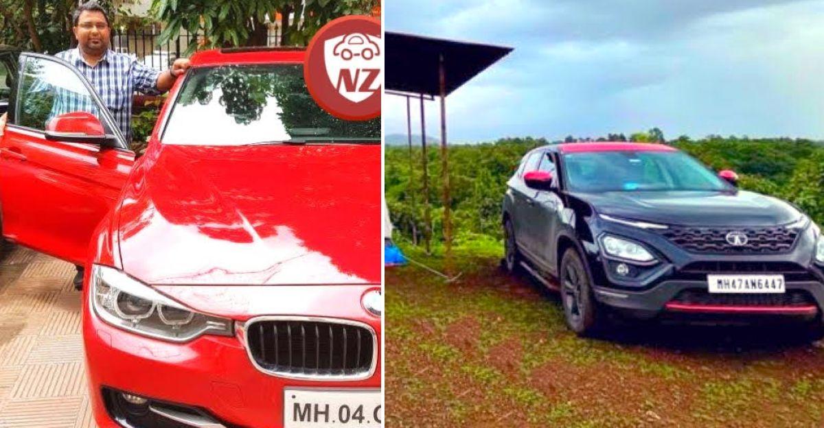 मालिक बताते हैं कि उन्होंने अपनी BMW 3-series क्यों बेची और Tata Harrier क्यों खरीदा