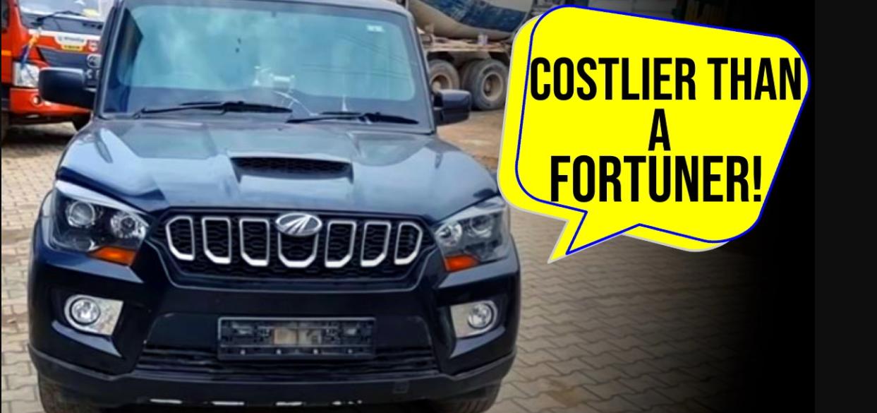 इस बुलेटप्रूफ Mahindra Scorpio की कीमत 48 लाख रुपये है [वीडियो]