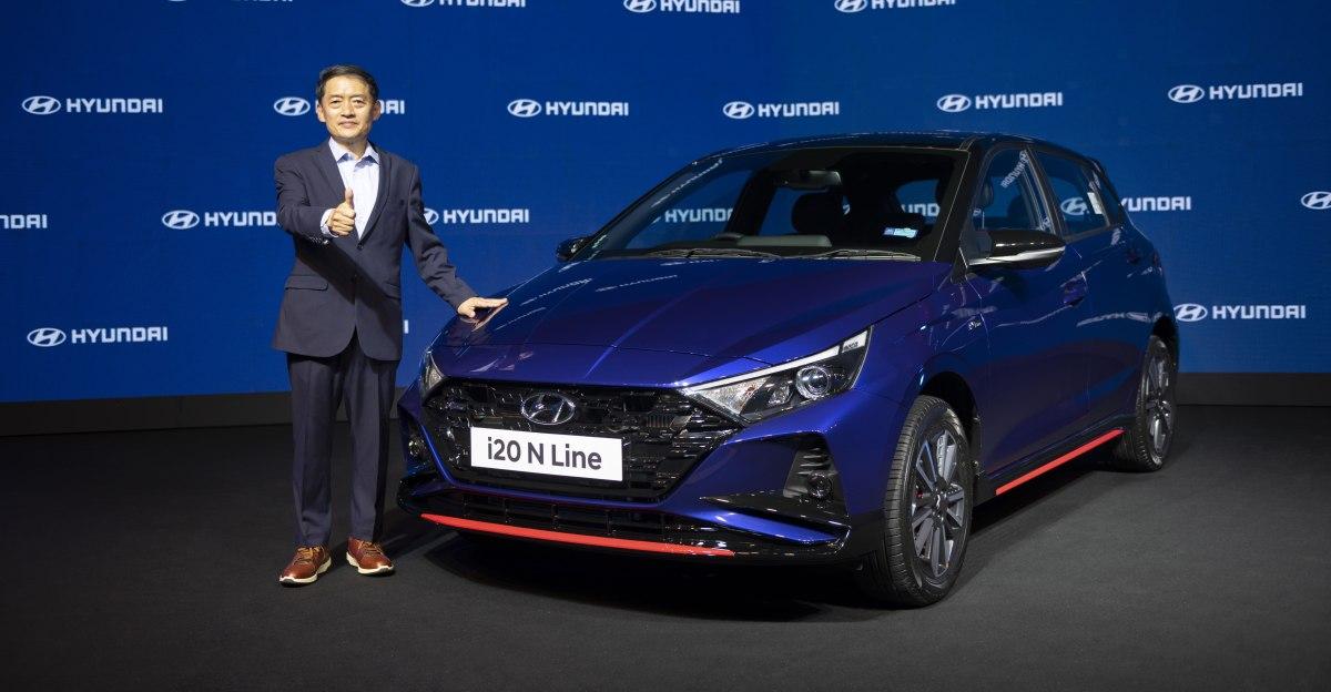 Hyundai i20 N लाइन 9.84 लाख रुपये एक्स-शोरूम में लॉन्च की गई