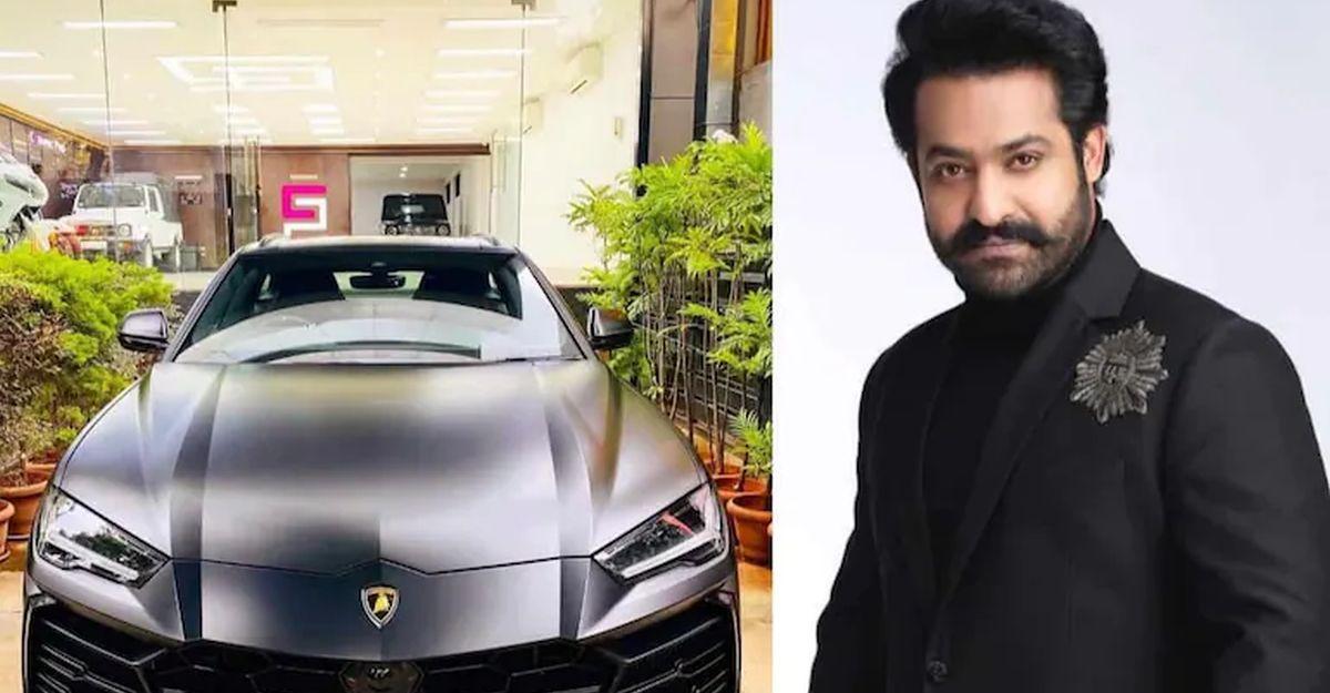 तेलुगु फिल्म स्टार NTR Jr ने Lamborghini Urus के स्पेशल नंबर खरीदने के लिए 17 लाख रुपए रुपये खर्च किये