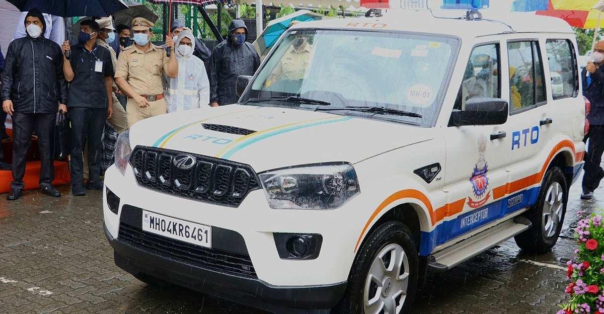 महाराष्ट्र RTO को गश्त के लिए 76 नई Mahindra Scorpio SUVs मिली