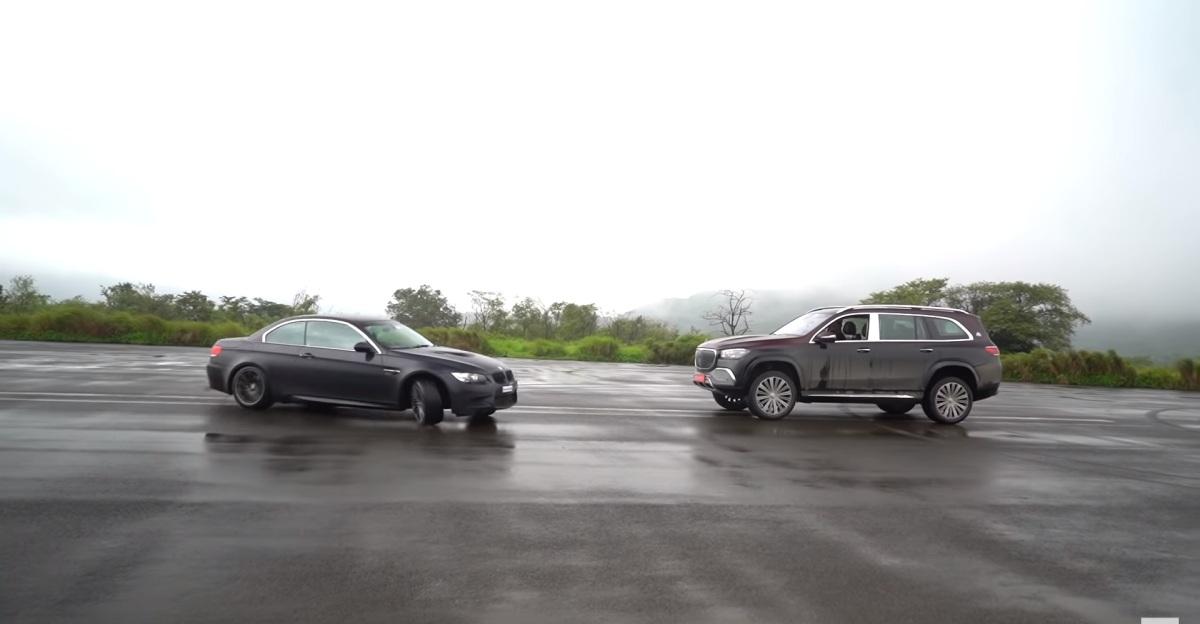 नई Mercedes-Maybach GLS600 सुपर लग्ज़री SUV के इर्द-गिर्द घूमती स्पोर्ट्स कारों को देखें