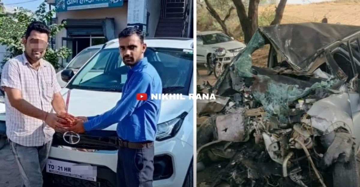 मालिक एक दूसरी Tata Nexon खरीदता है जब पहली दुर्घटना में पूरी तरह से क्षतिग्रस्त हो जाती है