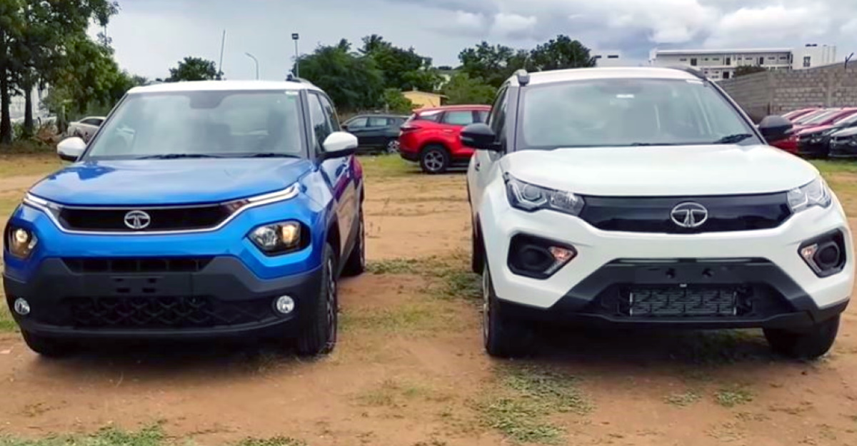 Nexon के बगल में Tata Punch: सड़क उपस्थिति की तुलना
