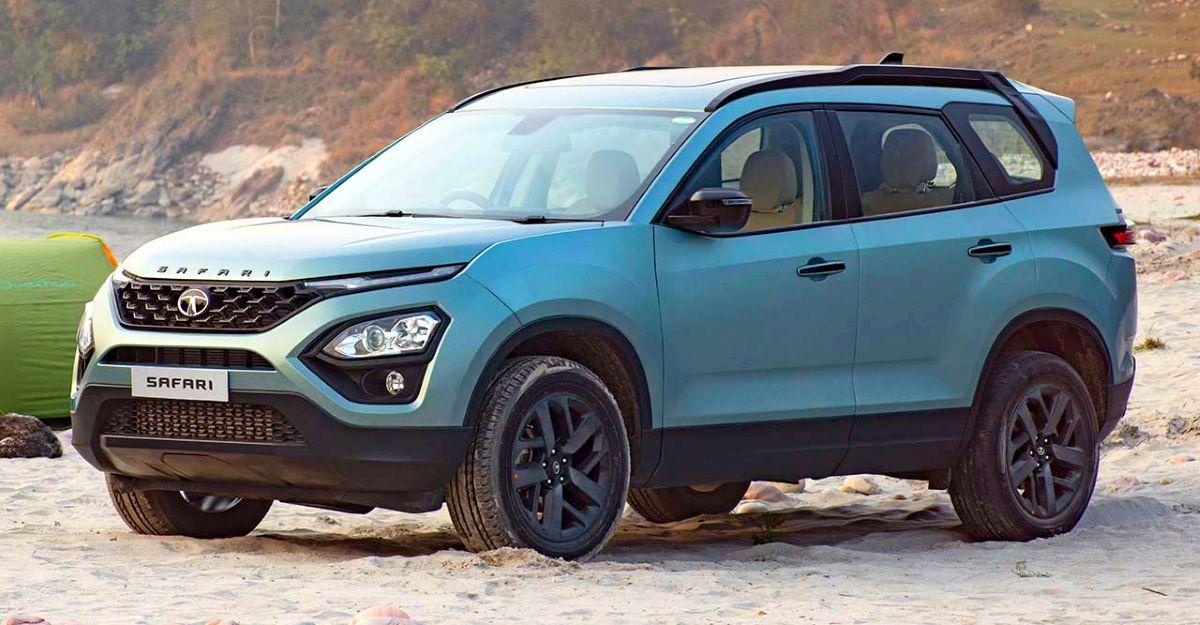 Tata Safari SUV XT और XZ variants अधिक सुविधाओं के साथ अपडेट किए गए