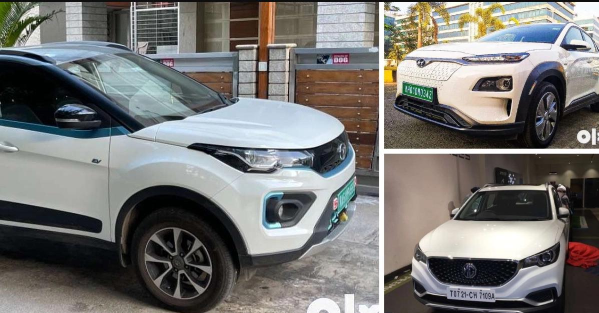 Well Maintained USED Electric SUVs: Tata Nexon EV से Hyundai Kona तक बिक्री पर