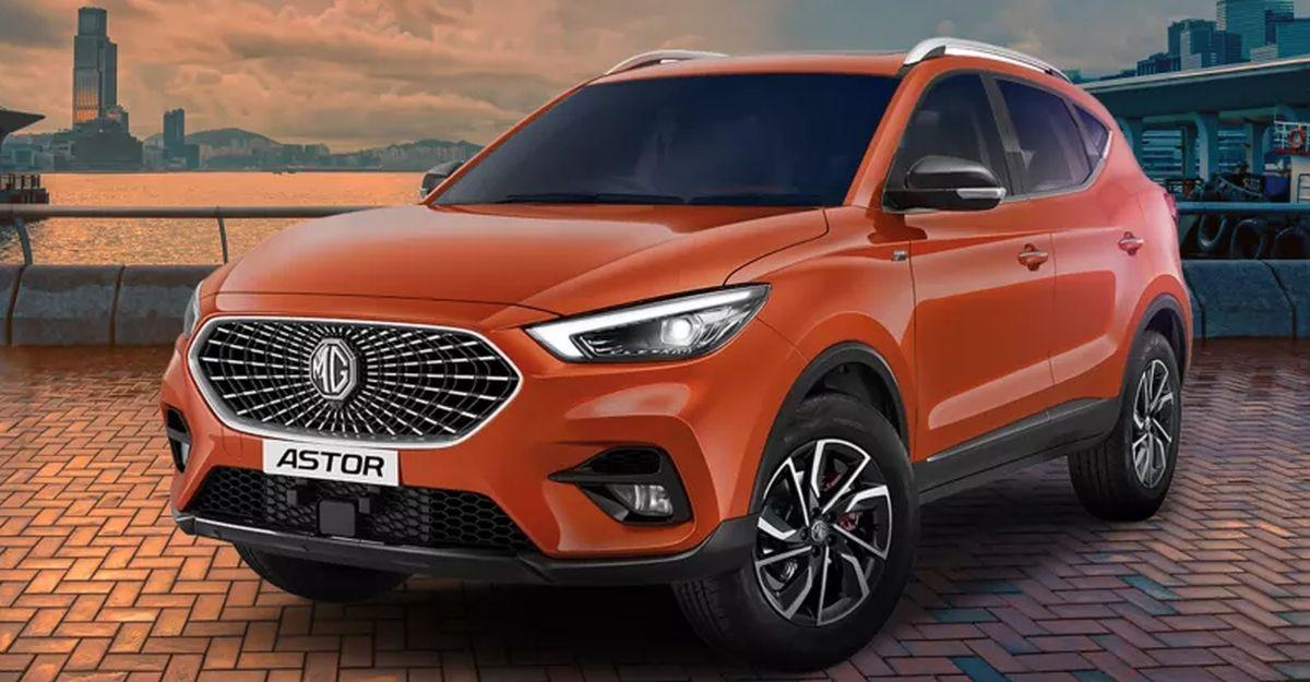 MG Astor कॉम्पैक्ट SUV की आधिकारिक लॉन्च टाइमलाइन का खुलासा