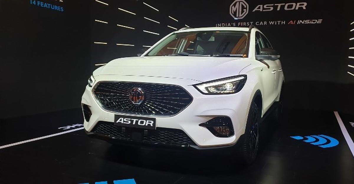 MG Astor कॉम्पैक्ट SUV लॉन्च टाइमलाइन का हुआ खुलासा