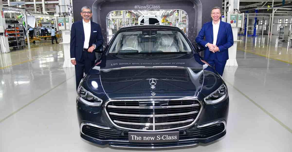 स्थानीय रूप से असेंबल की गई Mercedes Benz S-Class लग्जरी सेडान लॉन्च: 60 लाख रुपये सस्ता