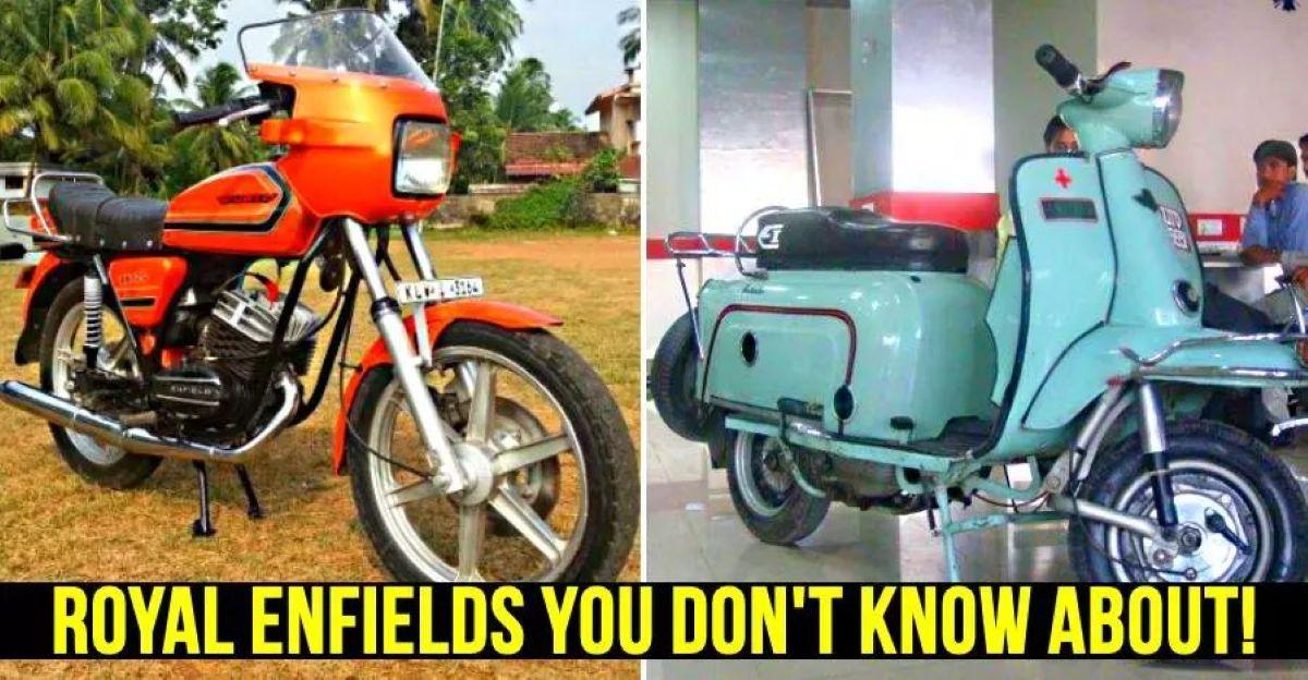 भारत की भूली हुई Royal Enfields: Fantabulous scooter से Mofa Moped