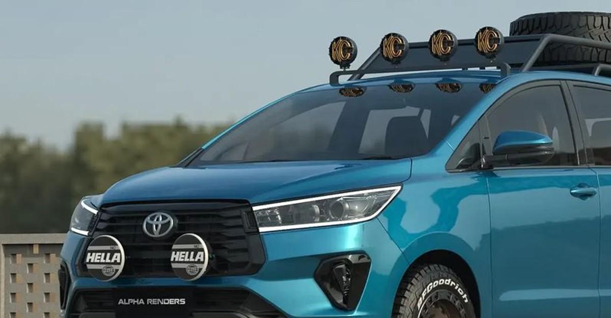 Toyota Innova Crysta की कल्पना हार्ड कोर ऑफ रोडर के रूप में की गई