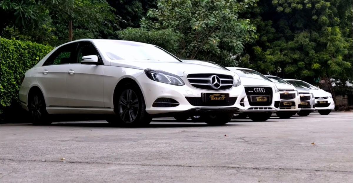 Used Mercedes-Benz, Audi, 2 Cruze सेडान और एक Hyundai Elantra: आकर्षक कीमतों पे