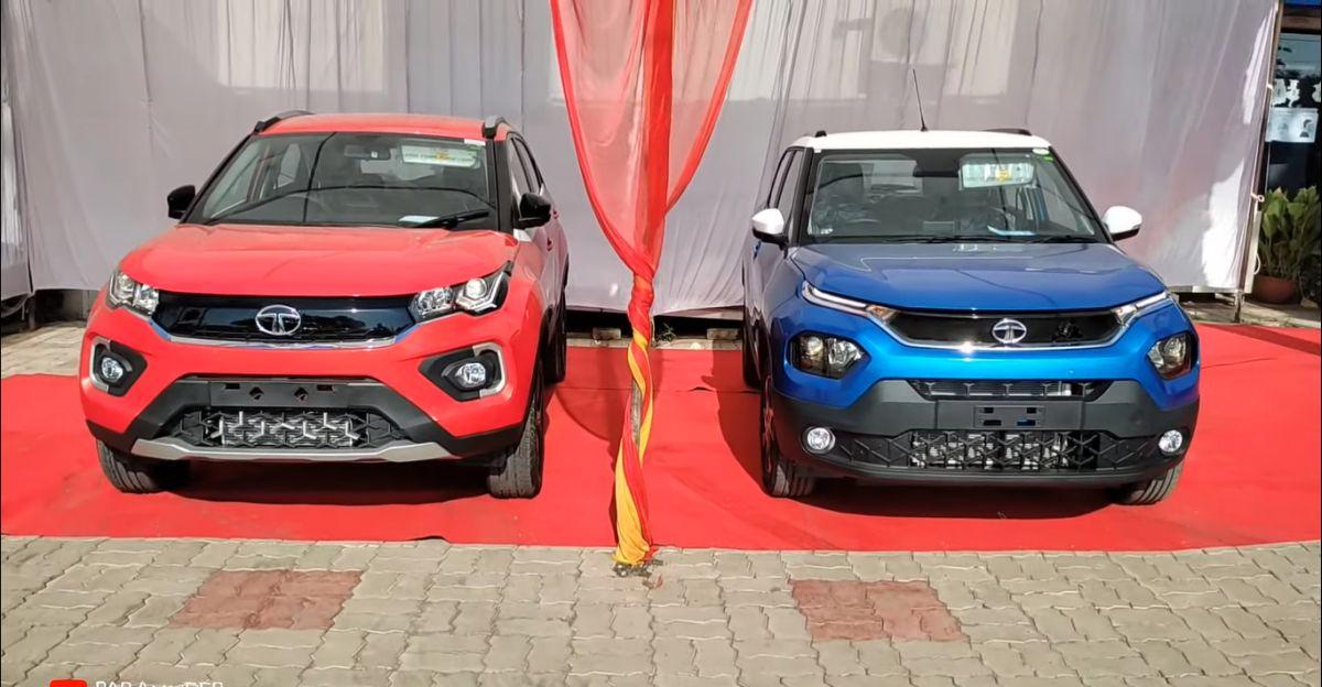 वीडियो में Tata Punch Micro SUV और Tata Nexon कॉम्पैक्ट एसयूवी की तुलना