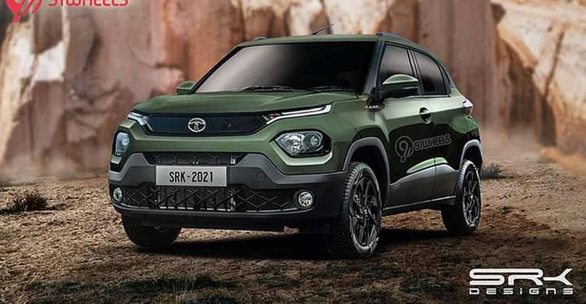 Tata Punch माइक्रो SUV का Camo Edition: यह कैसा दिखेगा