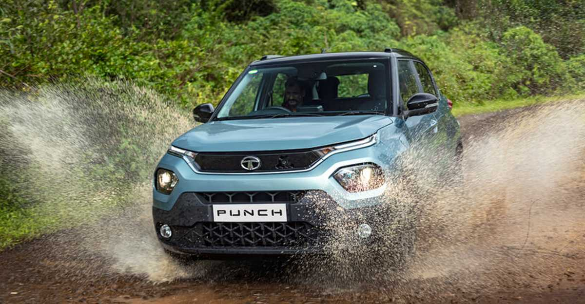 Tata Punch माइक्रो SUV: तस्वीरों में
