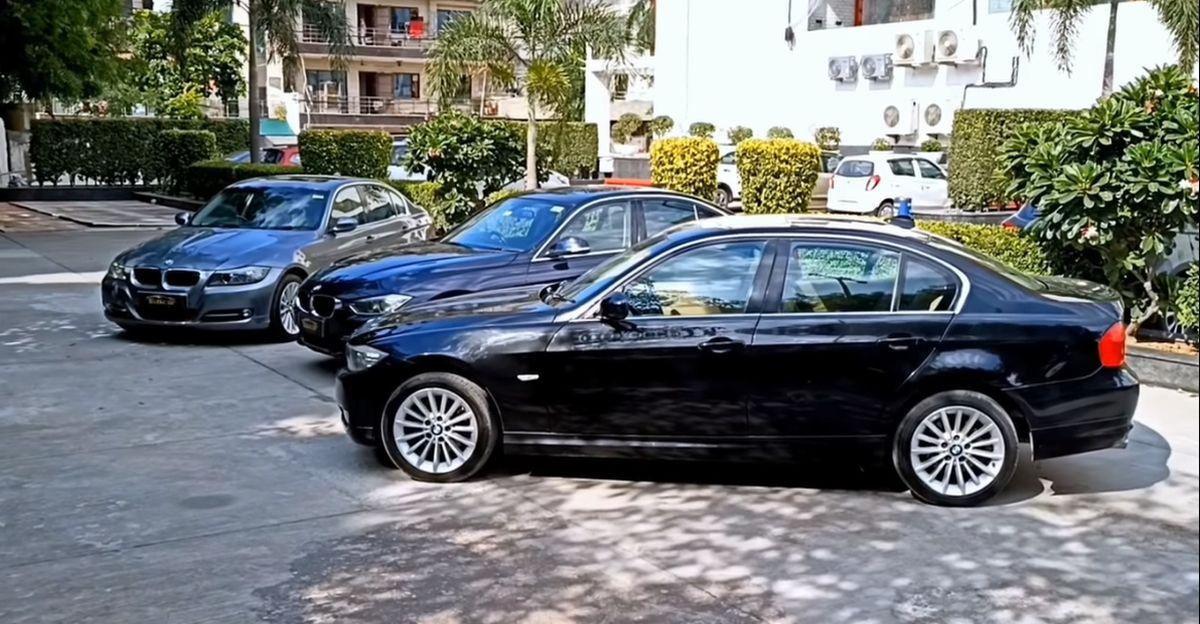 BMW 3-series लक्ज़री सेडान बिक्री के लिए उपलब्ध : कीमतें 6.25 लाख रुपये से शुरू