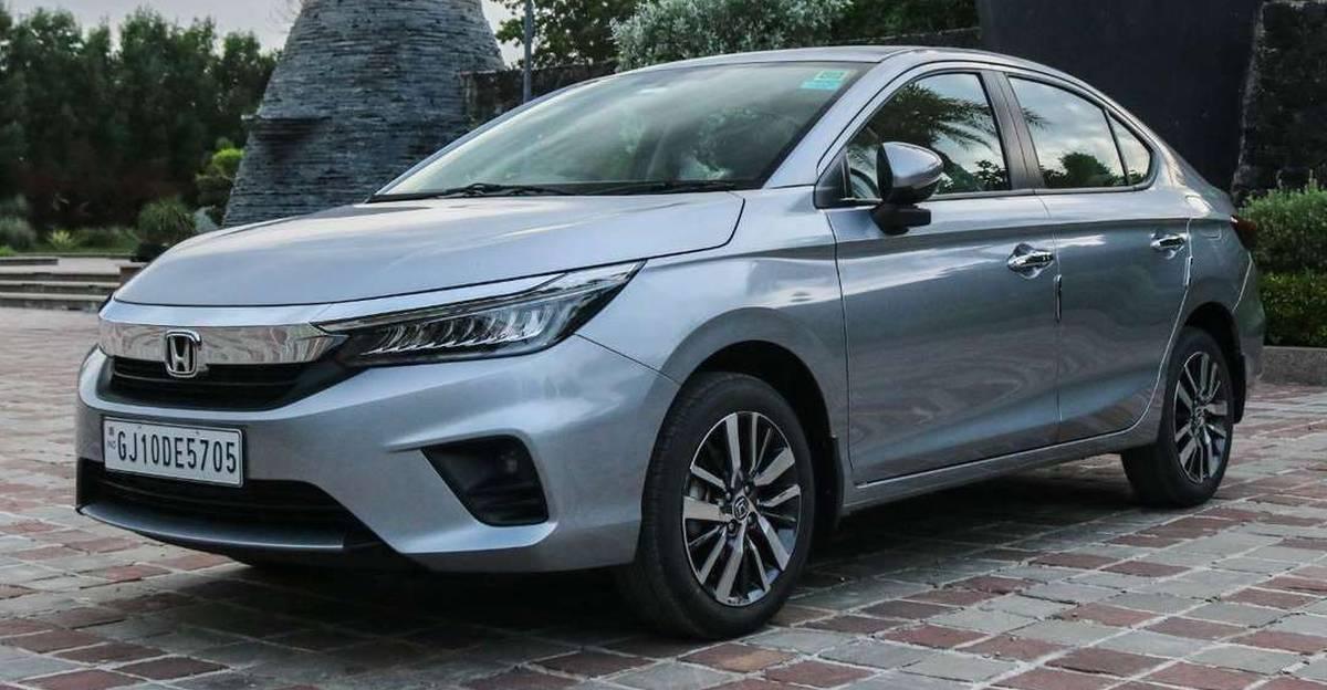 लगभग नई 2021 Honda City सेडान बिक्री के लिए