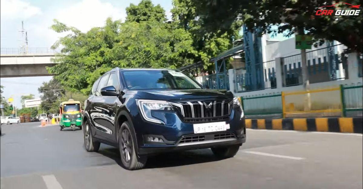 वीडियो पर Mahindra XUV700 डीजल मैनुअल समीक्षा