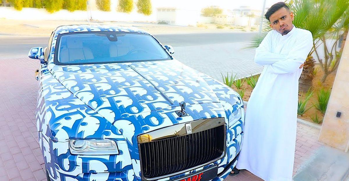दुबई का सबसे अमीर बच्चा और उसकी कार का बेड़ा: बिल्कुल नए Rolls Royce Ghost से लेकर Ferrari F12 Berlinetta तक