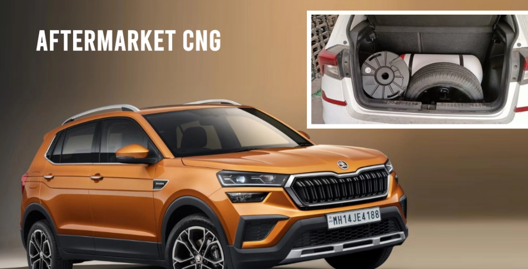 Video पर after-market CNG के साथ पहला Skoda Kushaq