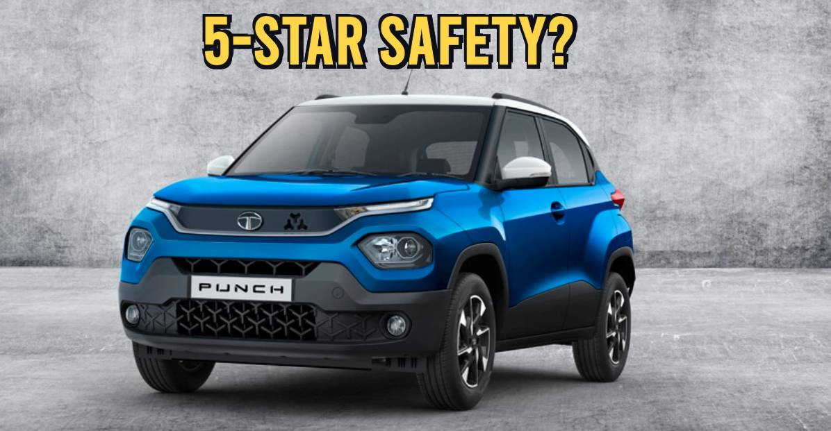 क्या Tata Punch को वास्तव में 5 स्टार GNCAP सुरक्षा रेटिंग मिली है? हम समझाते हैं