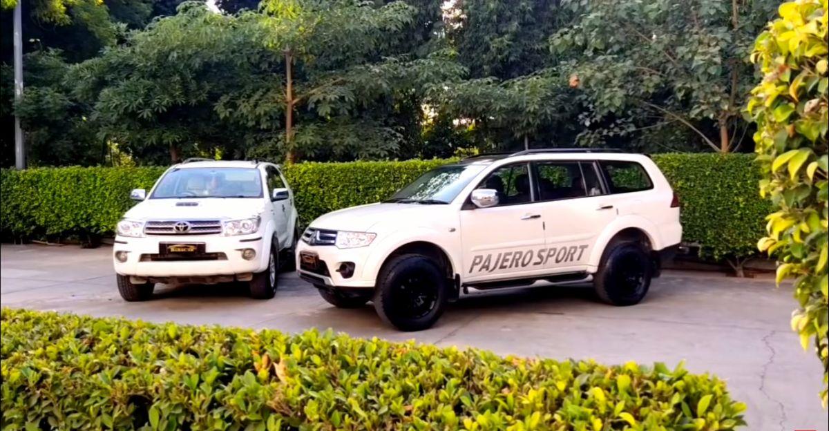 अच्छी तरह से रखा Toyota Fortuner, Mitsubishi Pajero Sport & Ford Endeavour 7.95 लाख रुपये से शुरू