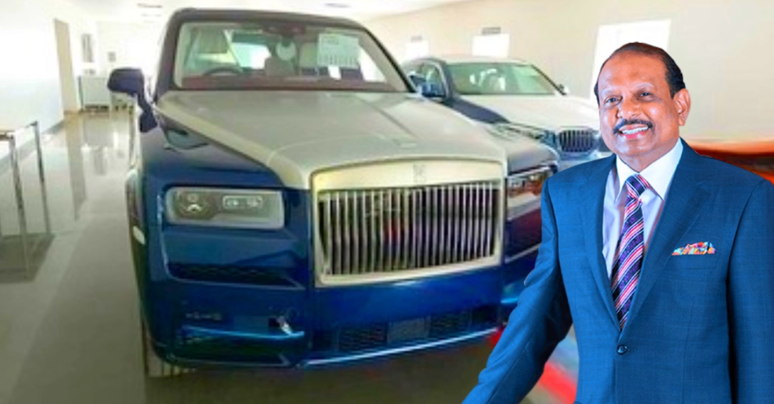 भारत के सबसे बड़े मॉल के Billionaire Owner को मिली Rolls-Royce Cullinan